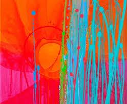 cuadros -con-diseños-abstractos-conexión-de-colores pinturas-diseños-modernos-coloridos