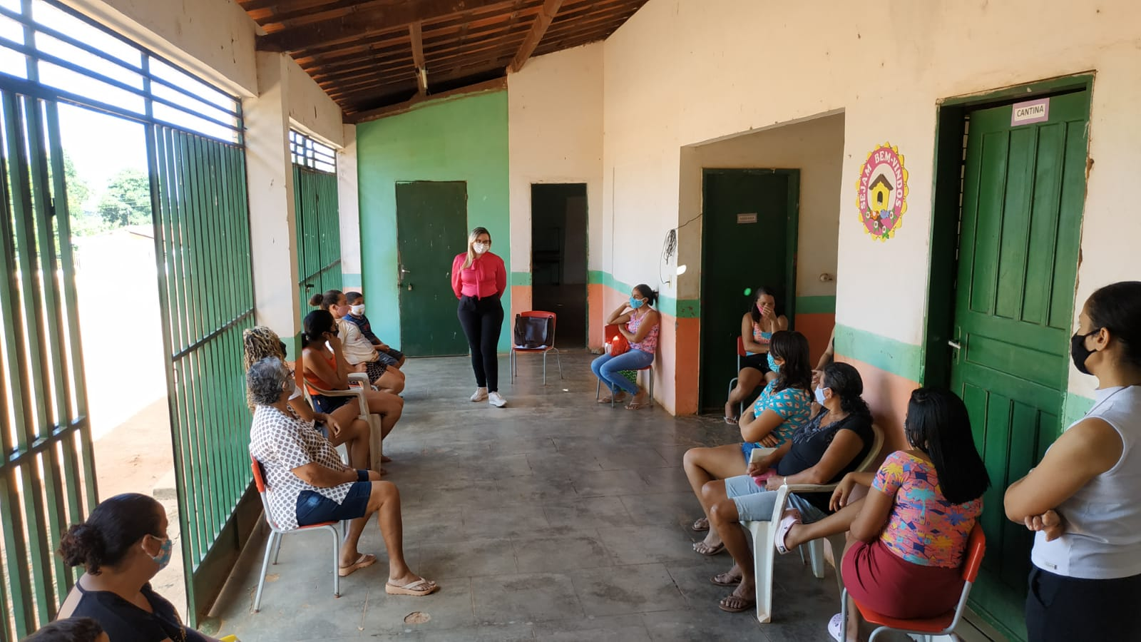 Aurora discute retorno das atividades grupais nas comunidades atendidas pela STDS com adoção de medidas no combate a Covid-19