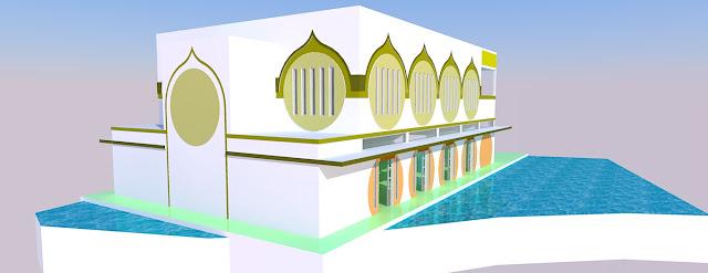 Masjid ditengah Koalm