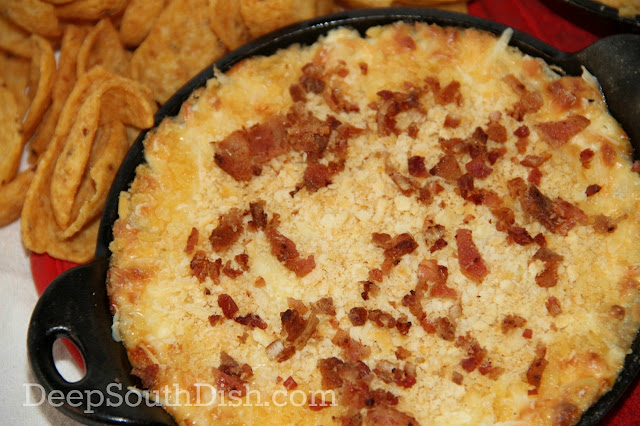 Cheesy Warm Vidalia Onion Dip