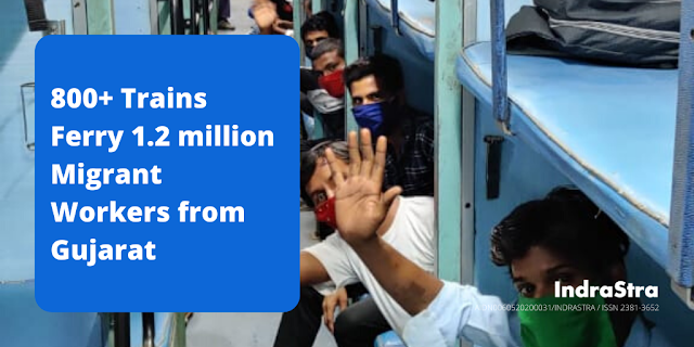 800+ Trains Ferry 1.2 million Migrant Workers from Gujarat