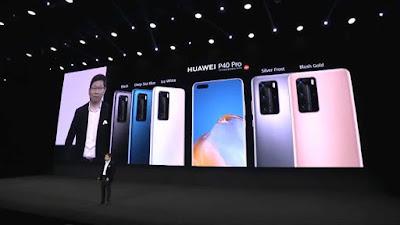 كشف الرسمي عن هاتفين Huawei P40 Pro و Huawei P40 من شركة هواوي