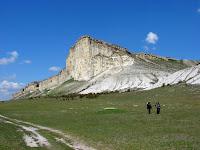 Белая Скала, каньон Кок-Асан (Кучук-Карасу), Зеленогорье, Караби-яйла