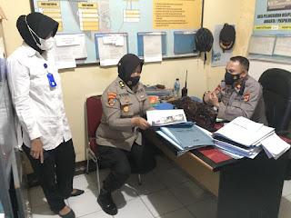Polres Pelabuhan Makassar terima Kunjungan Supervisi Biro Provos Div Propam Polda Sulsel