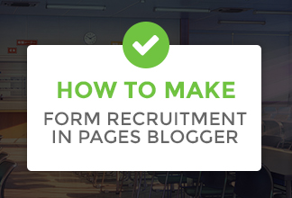 Usagilabs, Usagilabs How to Make Recruitment Form, Blogger, Template, Cmonfrozen
