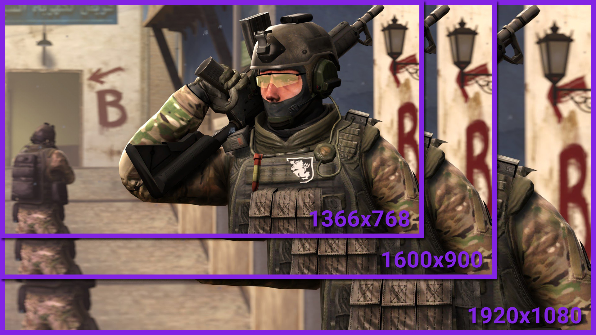 How to change resolution in CS:GO via launch parameters