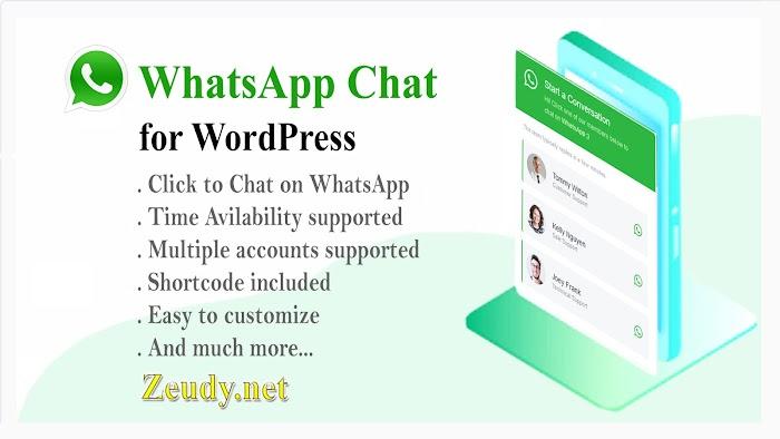 WhatsApp Chat v3.0.5 WordPress Plugin Nulled