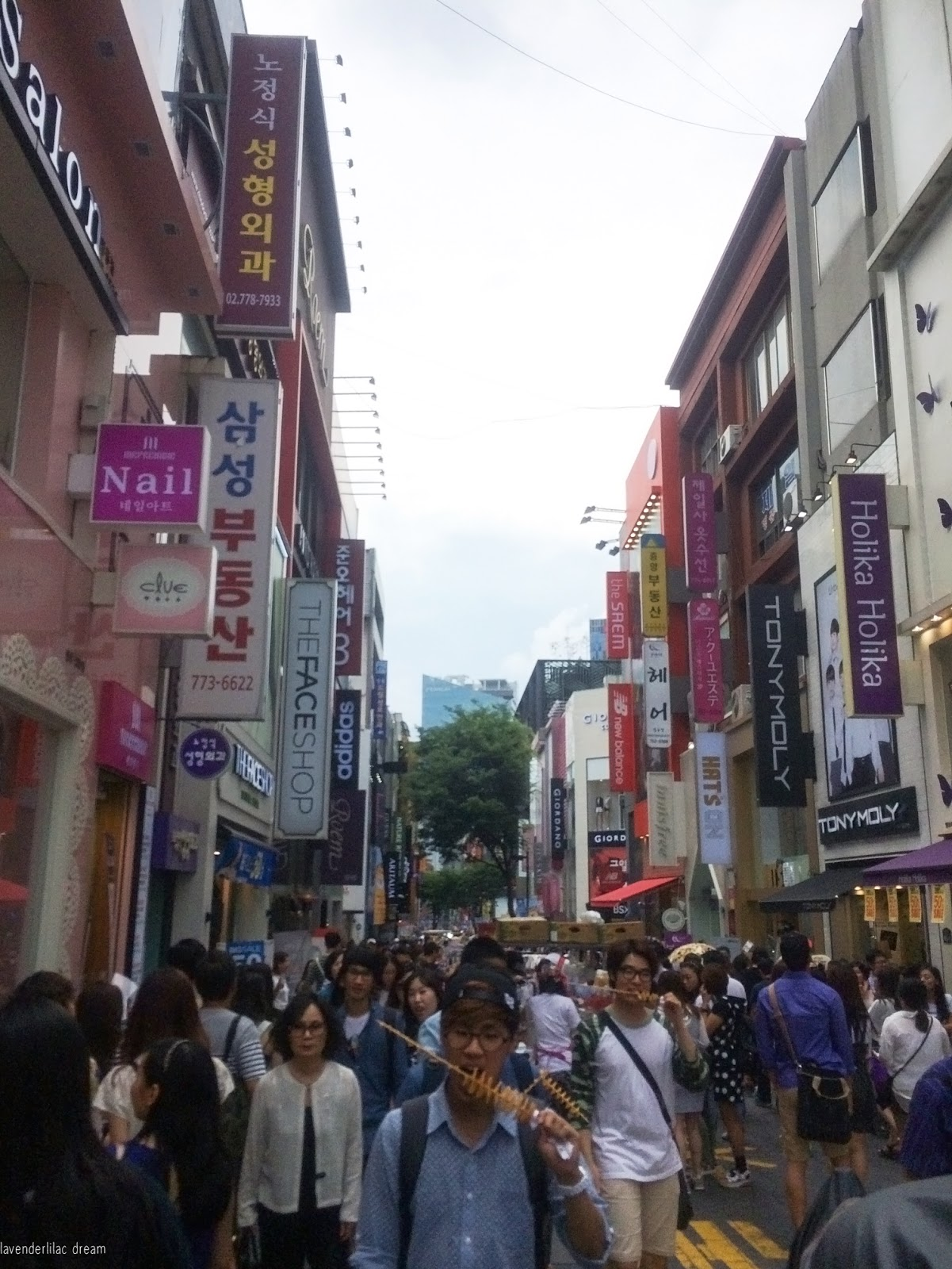 South Korea, Seoul, Myeongdong, YISS 2014