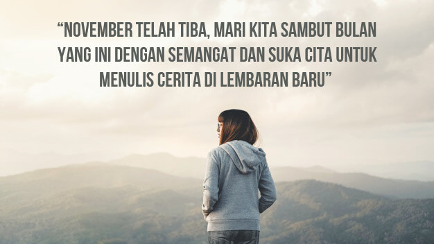 Kata Sambutan Bulan November