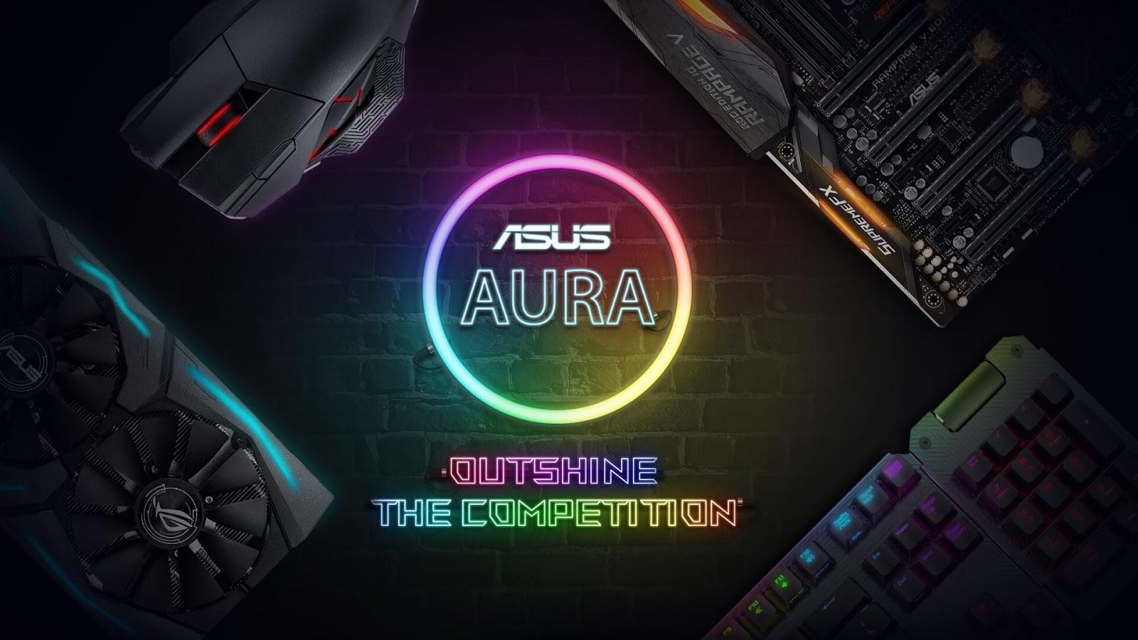 Asus FX External Hard Drive Uses Aura Sync RGB Lighting