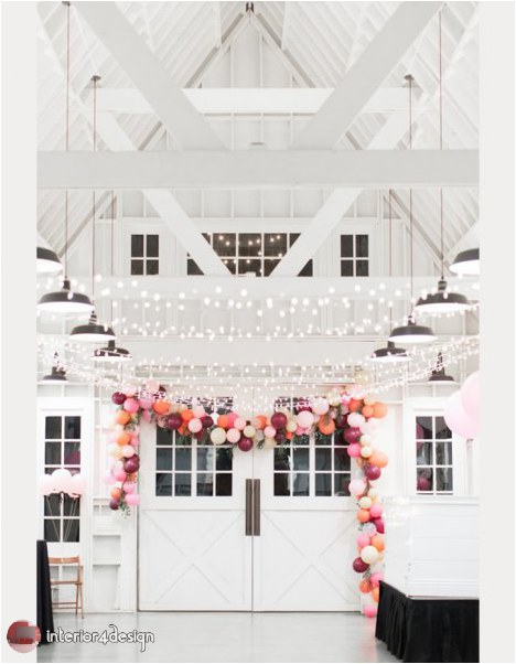 Wedding Decorations With Balloons And Flowers 20