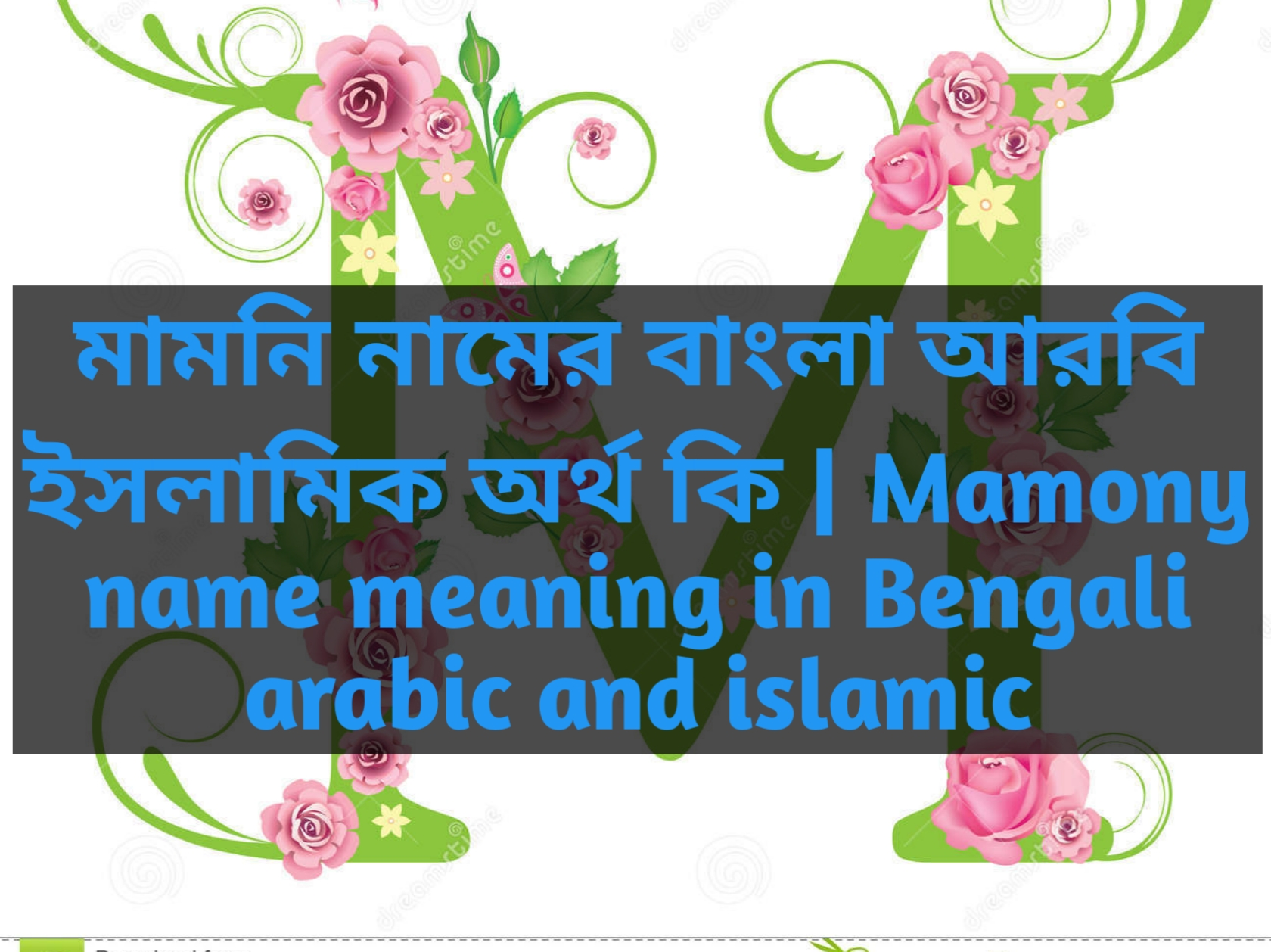 Mamony name meaning in Bengali, মামনি নামের অর্থ কি, মামনি নামের বাংলা অর্থ কি, মামনি নামের ইসলামিক অর্থ কি,