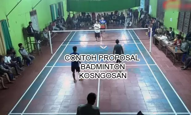 proposal badminton bulu tangkis