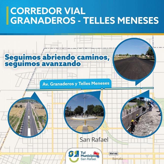 Granaderos-Telles Meneses, un nuevo corredor vial para descomprimir el tránsito en la ciudad