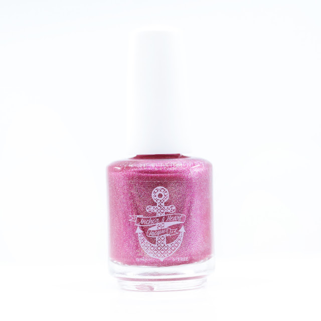 Anchor & Heart Lacquer I Love Lamp