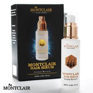 Montclair Hair Serum 50ml Serum Rambut Anti Rontok Montclair Grasse Original