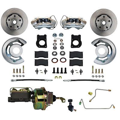 65-66 Mustang Drum to Power Disc Brake Conversion Kit
