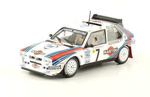 collezione rally monte carlo Lancia Delta HF Integrale 1986 Henri Toivonen - Sergio Cresto