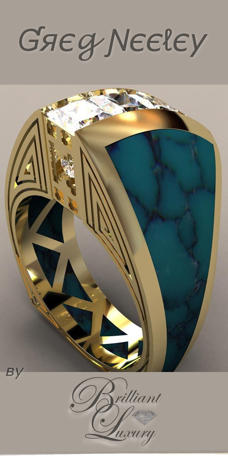 Brilliant Luxury ♦ Greg Neeley Indian Princess Ring