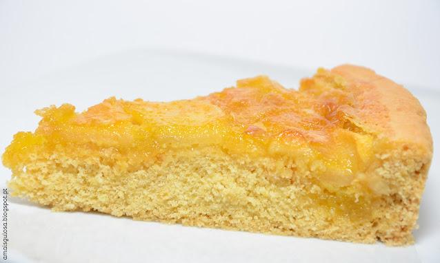 Tarte de maçã com creme de ovos