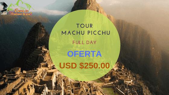 Tour a machu Picchu 1 Dia