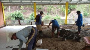 Pembangunan Madrasah di Kampung Muallaf Pinrang Memasuki Babak Akhir