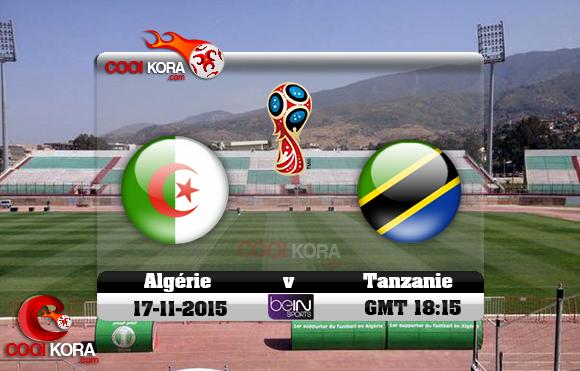مشاهدة مباراة الجزائر وتنزانيا بث مباشر اليوم الإثنين 01-07-2019 كأس الأمم الأفريقية