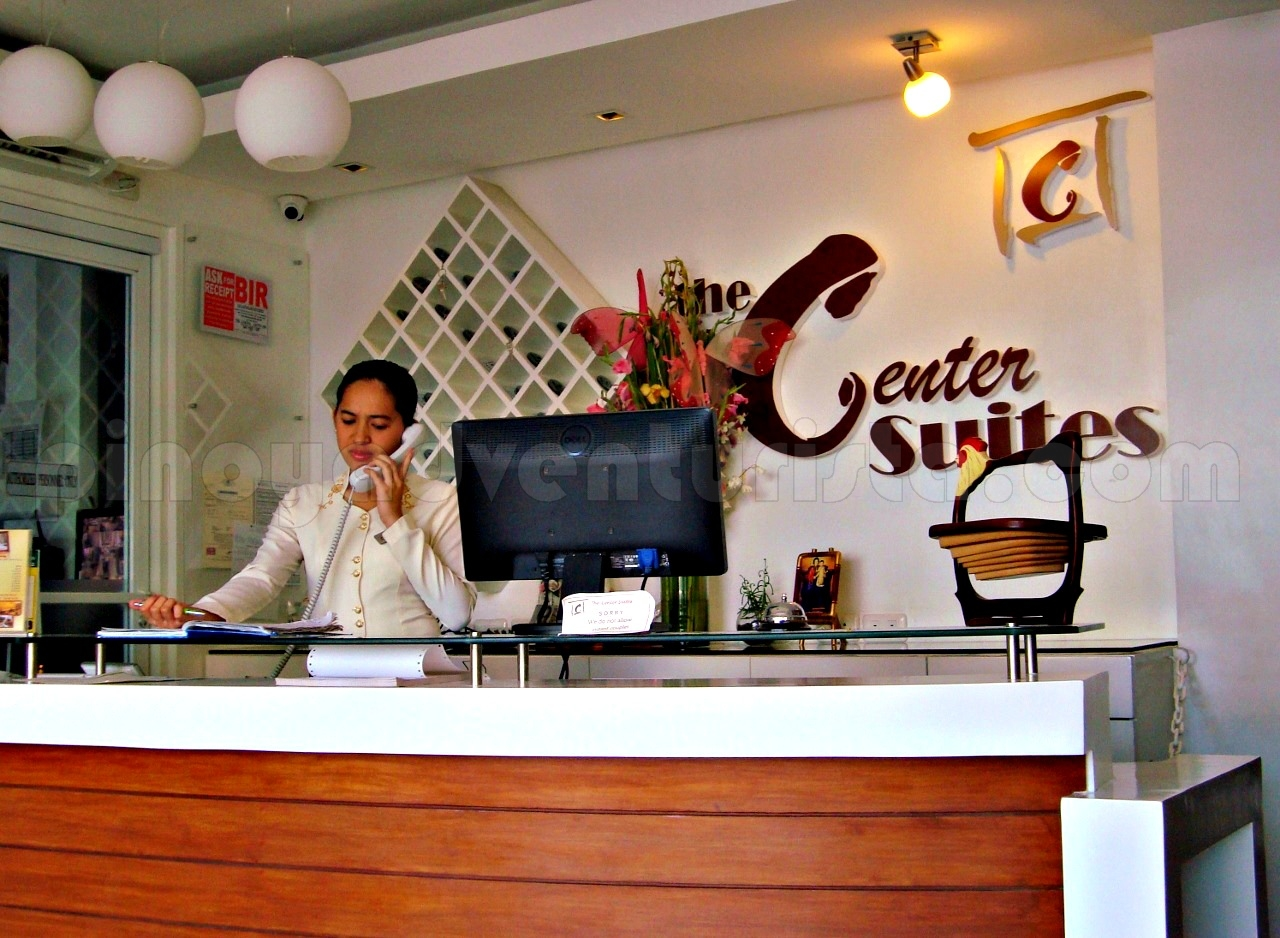 WHERE TO STAY IN CEBU The Center Suites in Cebu City is Where