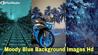 111+ Blue Background HD for Editing | Moody Blue Photo Editing Background Images