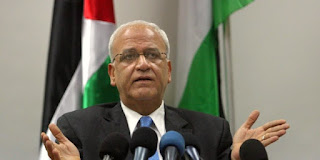 PLO Secretary General Saeb Erekat