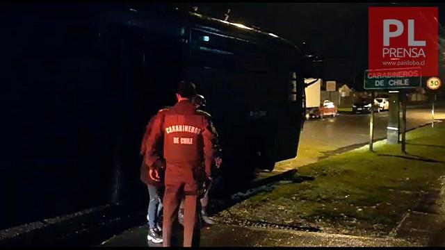 Carabineros lesionados dejan incidentes en Osorno