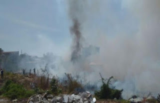 Em Sousa, Corpo de Bombeiros é acionado para conter incêndio de grandes proporções
