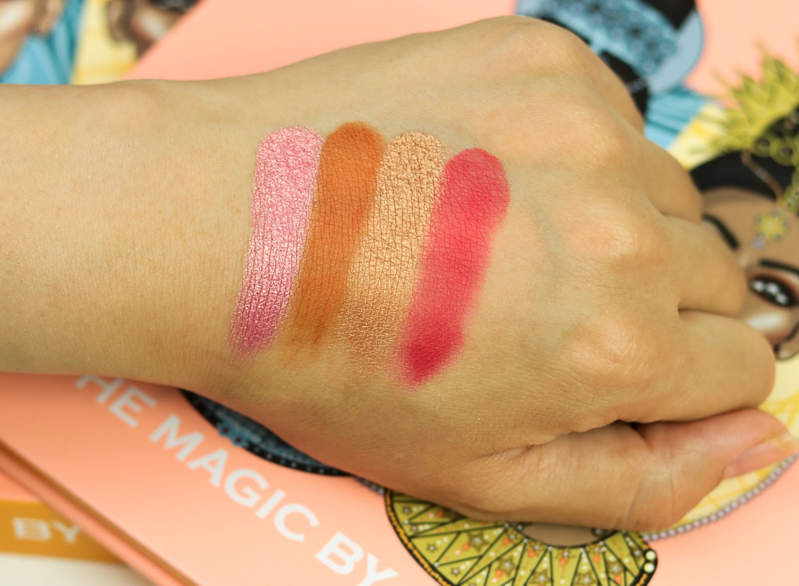 The Magic Palette Juvia's Place Avis et Swatch