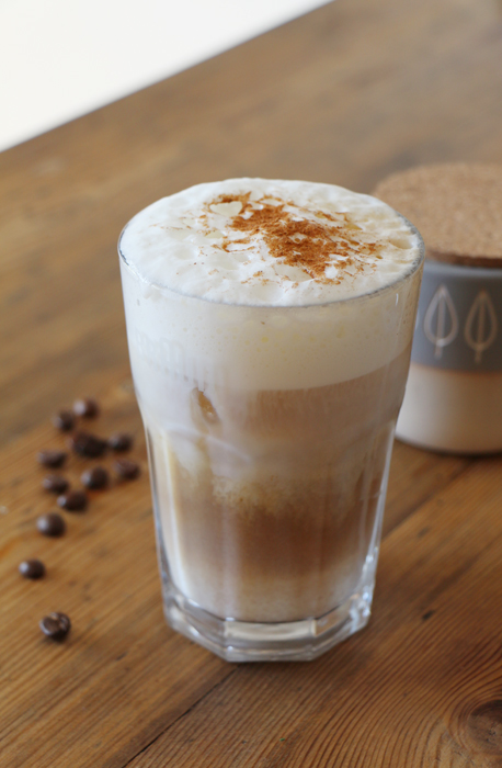 Iced Latte Macchiato / Eiskaffee
