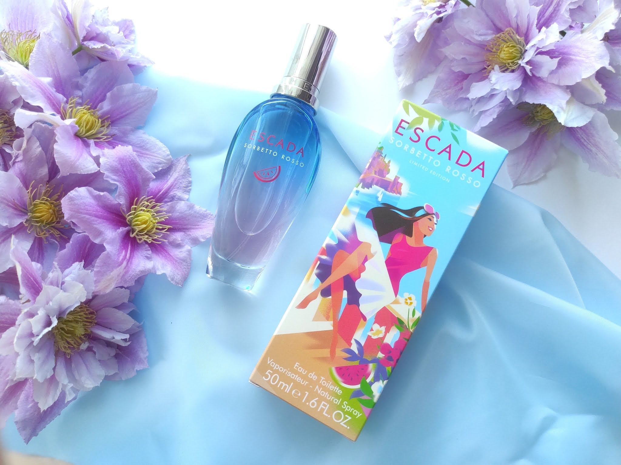Letnie perfumy Escada Sorbetto Rosso