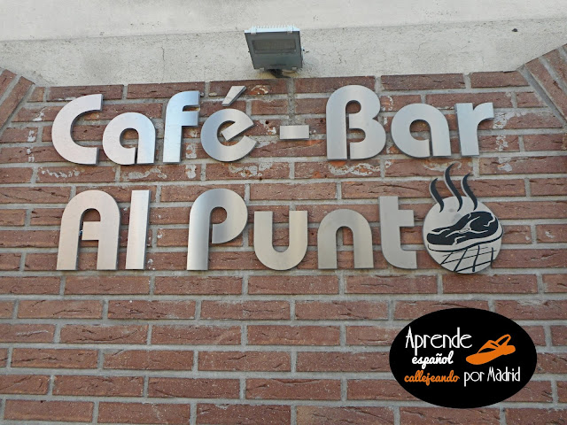 Aprende español callejeando por Madrid: Punto por punto
