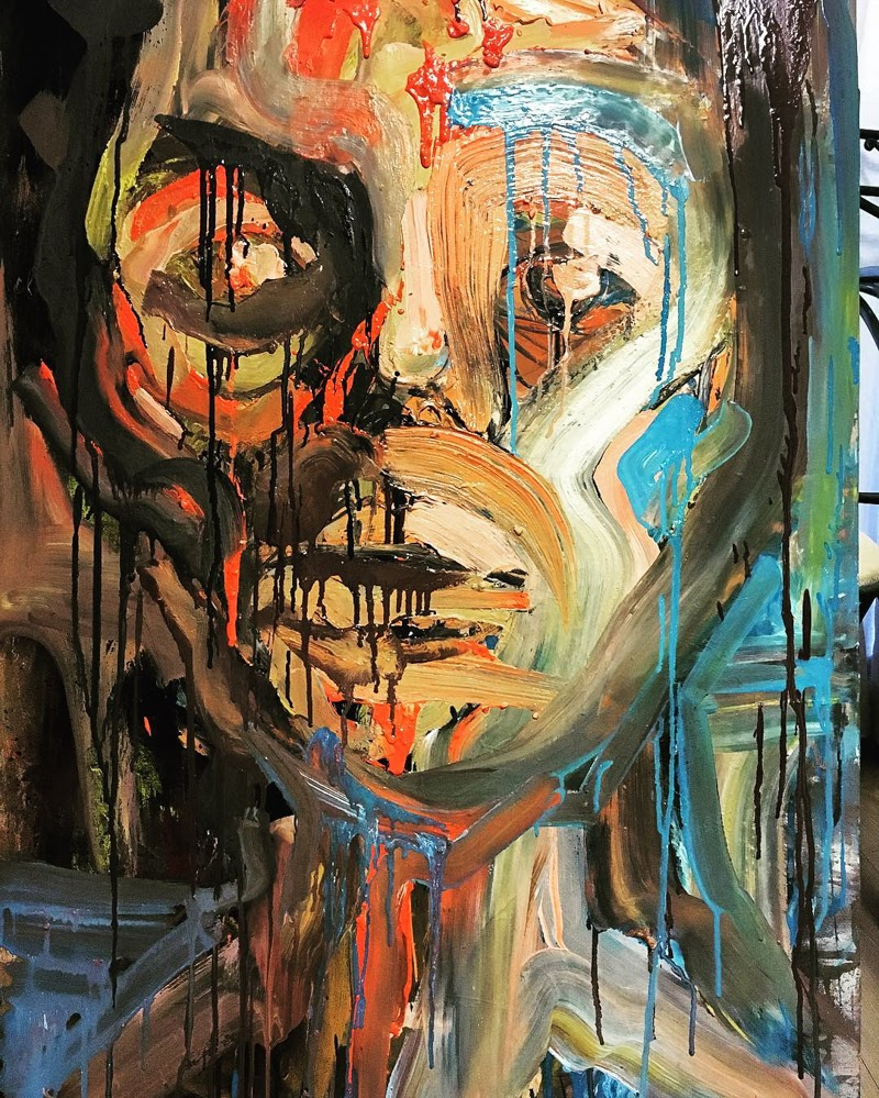 Paintings by Shiva Tabar from Iran.