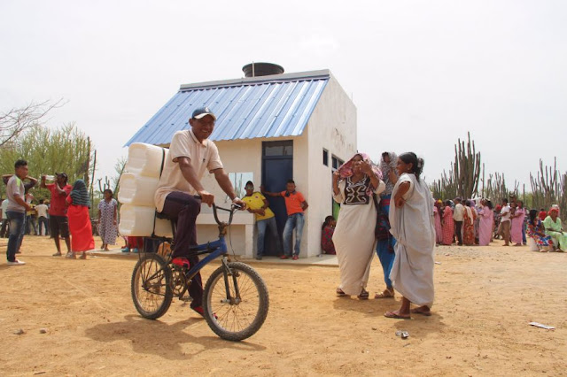 """Guajira Azul: Por $ 4 mil 300 millones se contrató sistema de abastecimiento de agua en zona rural de Riohacha"""