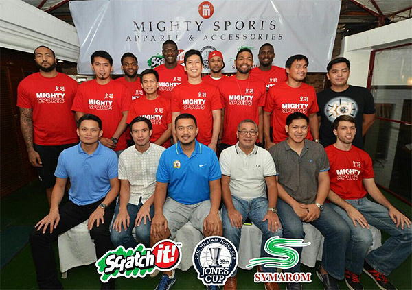 Mighty Sports PHL Final 14-man lineup to 2016 Jones Cup