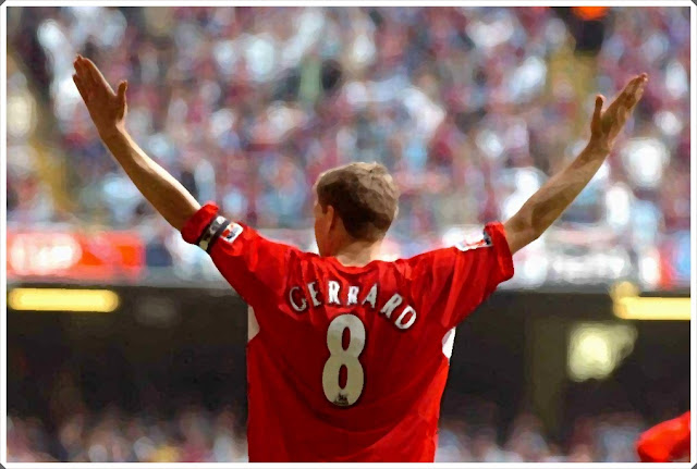 Steven Gerrard Liverpool FA Cup Final 2006