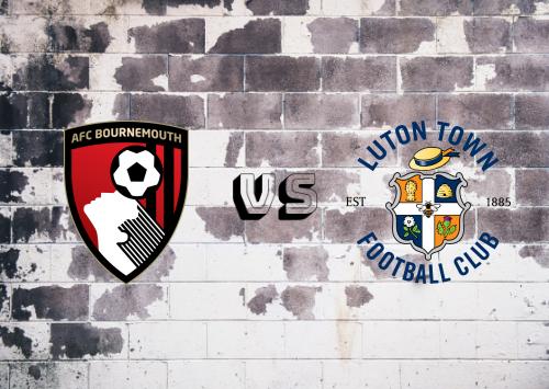 AFC Bournemouth vs Luton Town  Resumen