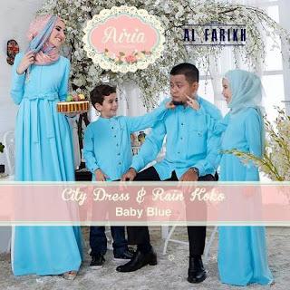 model baju lebaran untuk 1 keluarga