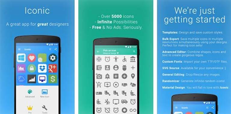 Inilah 5 Aplikasi Icon Generator (Pembuat Ikon) Terbaik Di Android