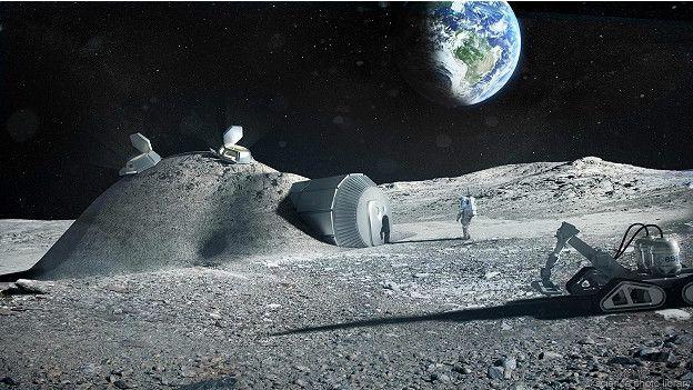 Япония рвется на луну: сначала роботы, затем база