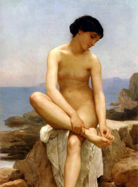 Адольф Вильям Бугро - Купальщица (1879)