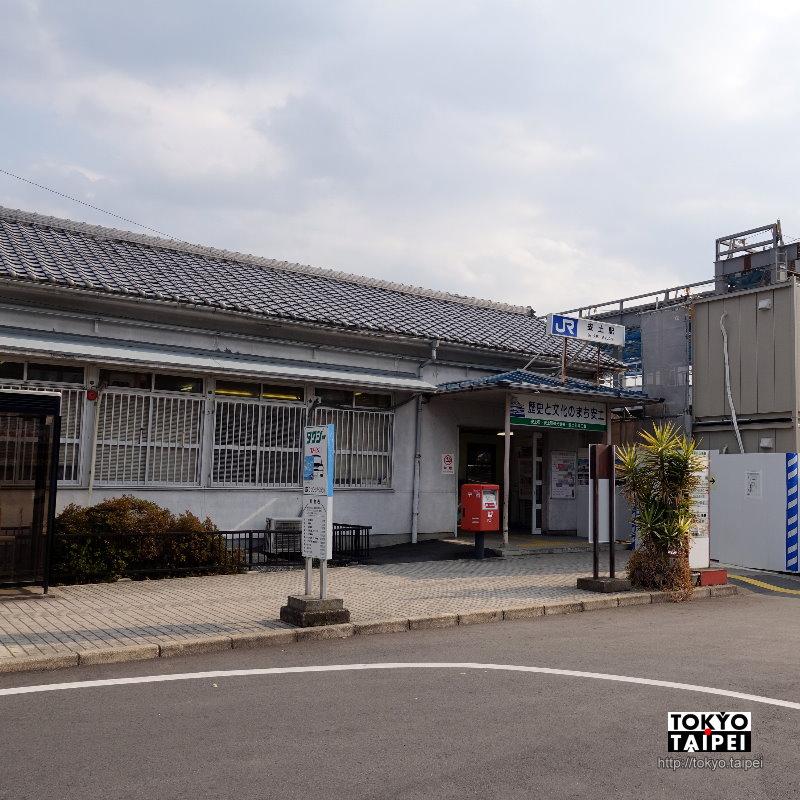 【安土駅】車站前2家租車店 寄物租車拿地圖一次搞定