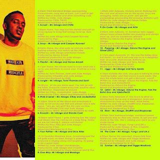 Rapper, M. I Unveils New Album Tracklist (Check out)