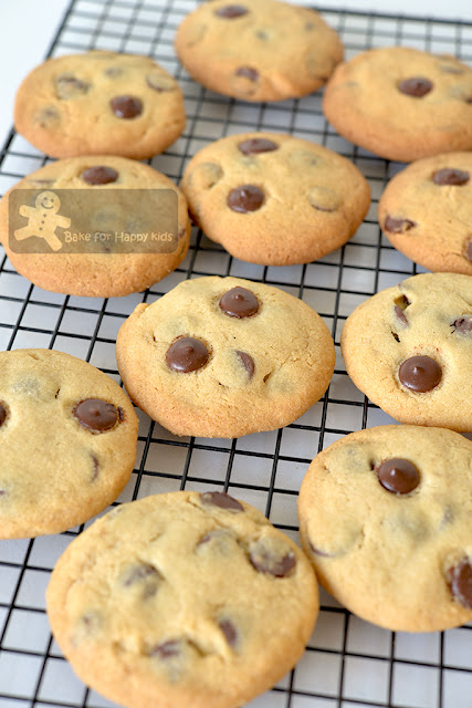 copycat Chips Ahoy chocolate chip cookies recipe two less sugar crunchy