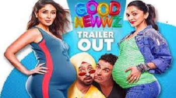 good news movie release date, good news movie budget, good news movie cast, good news full movie in hindi, good news movie story, good news movie songs, good news movie trailer, good news movie download
