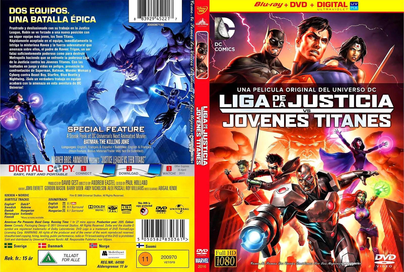 Teen Titans Dvd